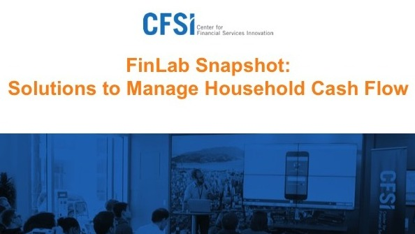 Financial Solutions Lab Snapshot: Solutions to Manage Household Cash Flow